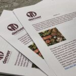 recipe handout from Denver Cooking Classes
